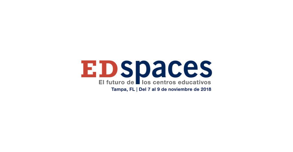 Logotipo de conferencias Ed Spaces 2018